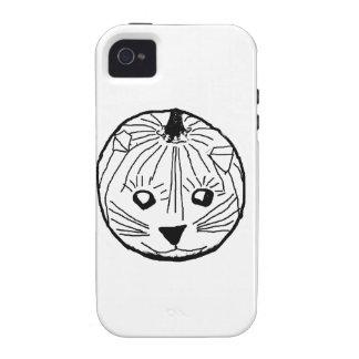 Pumpkin Cat iPhone 4 Case