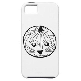 Pumpkin Cat iPhone 5 Cases