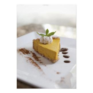 Pumpkin Cheesecake Photographic Print