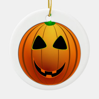 pumpkin christmas ornament