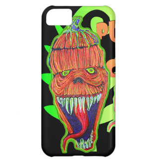Pumpkin Chuck Cover For iPhone 5C