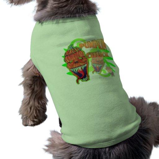 Pumpkin Chuck Doggie Tee Shirt