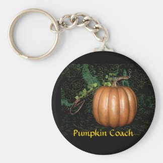 Pumpkin Coach Key Ring