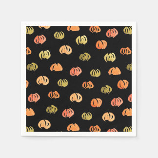 Pumpkin Cocktail Paper Napkins