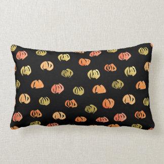 Pumpkin Cotton Lumbar Pillow