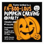 Pumpkin Craving Halloween Party Invitation