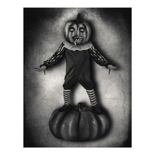 Pumpkin Customizable Halloween Flyers