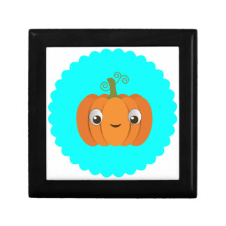 Pumpkin design gift box