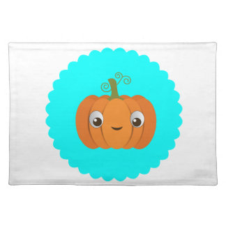 Pumpkin design placemat