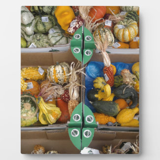 Pumpkin Display Plaque