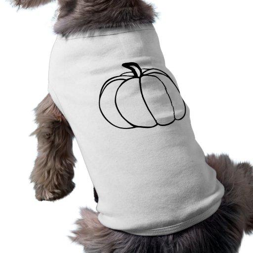 Pumpkin Dog Tshirt