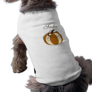 Pumpkin Dog Shirt
