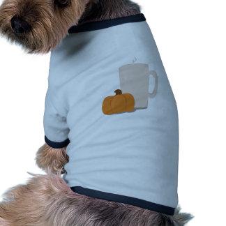 Pumpkin Drink Ringer Dog Shirt