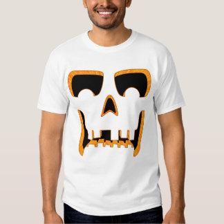 Pumpkin Face BONES Shirts