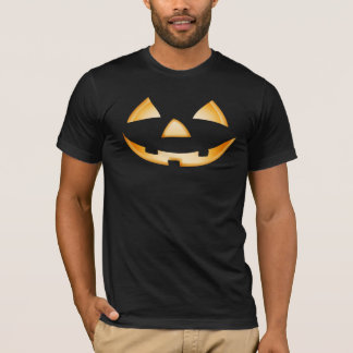 Pumpkin Face Halloween Party T-Shirt