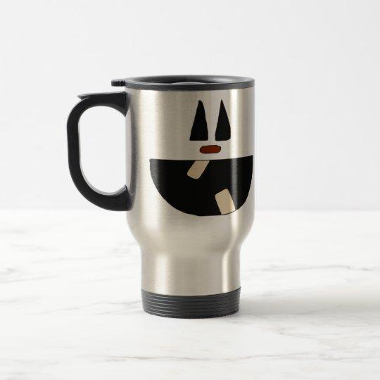 Pumpkin Face Halloween Travel Mug/Cup Travel Mug