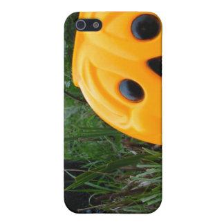 Pumpkin Face iPhone 5 Cases