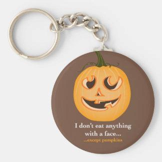 Pumpkin Face - Key Chain