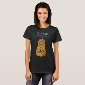 Pumpkin face with blue eyes ,le'ts get smashed lf4 T-Shirt
