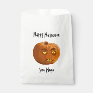 Pumpkin Fangs: Happy Halloween - You Hope Favour Bags