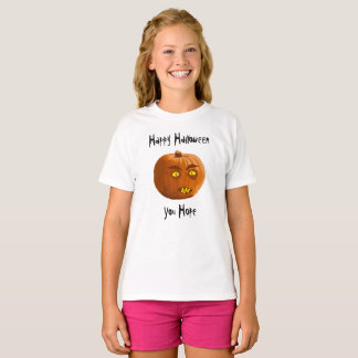 Pumpkin Fangs: Happy Halloween - You Hope T-Shirt