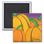 Pumpkin Field Magnet