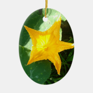 PUMPKIN FLOWER CHRISTMAS ORNAMENT