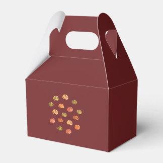 Pumpkin Gable Favor Box