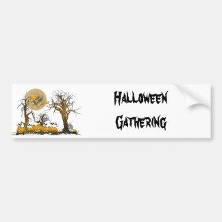 Pumpkin Gang Car Bumper Sticker
