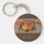 Pumpkin Garden Keychain