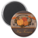Pumpkin Garden Magnet 2