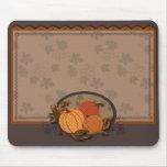 Pumpkin Garden Mousepad