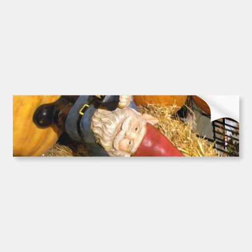Pumpkin Gnome II Bumper Sticker
