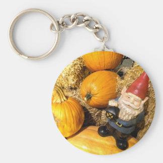 Pumpkin Gnome II Key Ring