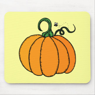 Pumpkin - Gourd, Squash, Halloween, Fall Mouse Pad