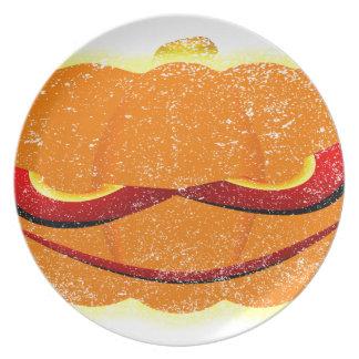 Pumpkin Grin Plate