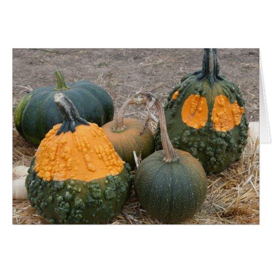 Pumpkin Groupies Card