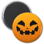 Pumpkin Happy 6 Cm Round Magnet