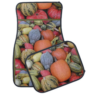 Pumpkin Harvest R02.1.5 Car Mat