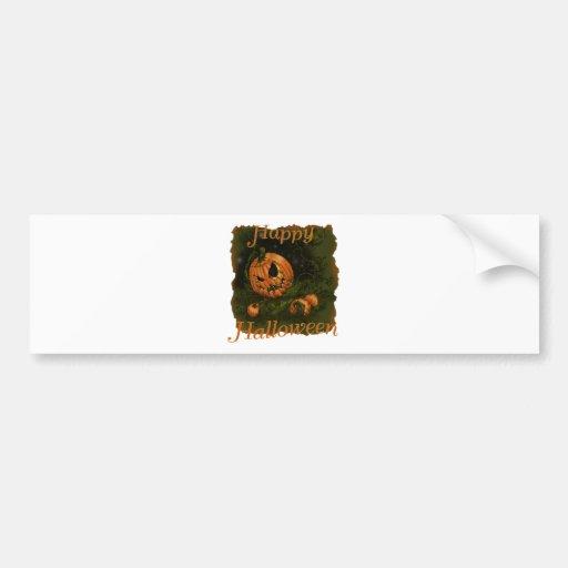 pumpkin_head_copy bumper stickers