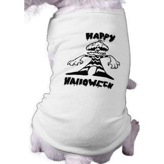 Pumpkin Head! - Doggie T Sleeveless Dog Shirt