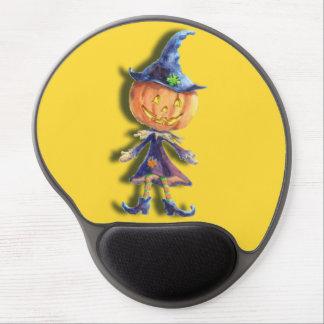 PUMPKIN HEAD & HAT by SHARONSHARPE Gel Mouse Pad