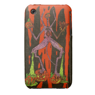 Pumpkin Head iPhone 3 Cases