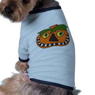 Pumpkin Head Trick or Treat Doggie T-shirt