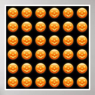 Pumpkin Heads Poster