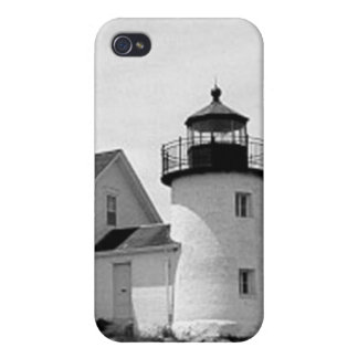 Pumpkin Island Lighthouse iPhone 4/4S Cover
