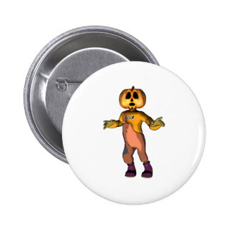 Pumpkin Jack 6 Cm Round Badge
