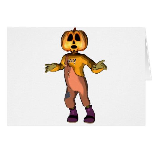 Pumpkin Jack Card