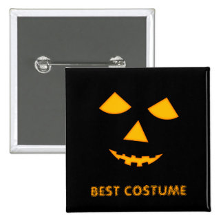 Pumpkin Jack o Lantern Custom Halloween Costume 15 Cm Square Badge