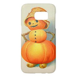 Pumpkin Jack O' Lantern Snowman